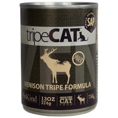 PetKind tripeCAT Venison Tripe Formula Cat Food