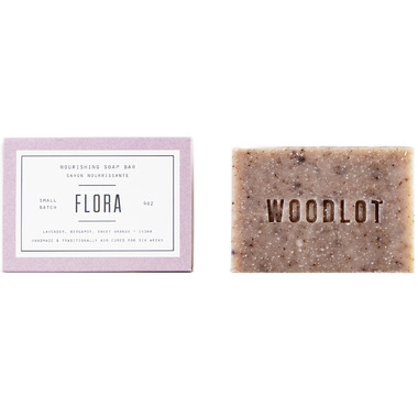 Woodlot Flora Nourishing Soap Bar