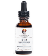 SunForce Liquid B-12 Raspberry Flavor