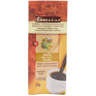 Teeccino Caffeine-Free Medium Roast Herbal Coffee Java Flavour