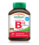 Jamieson Vitamin High Potency B12 Sublingual Tablets