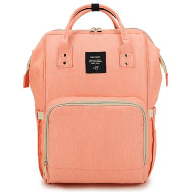 AOFIDER Diaper Bag Peach