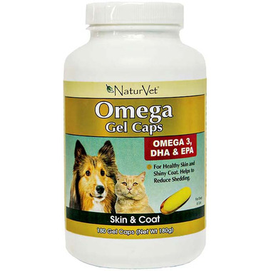 Naturvet Omega Gel Capsules