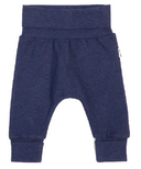 petit lem Heather Navy Grow With Me Pant 0M-24M
