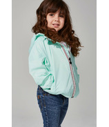 O8 Lifestyle Kid's Full Zip Packable Jacket Mint