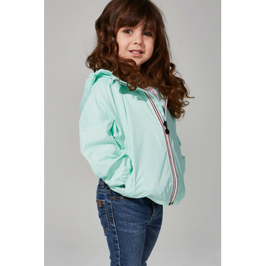 O8 Lifestyle Kid\'s Full Zip Packable Jacket Mint