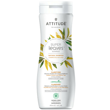ATTITUDE Super Leaves Natural Shampoo Clarifying