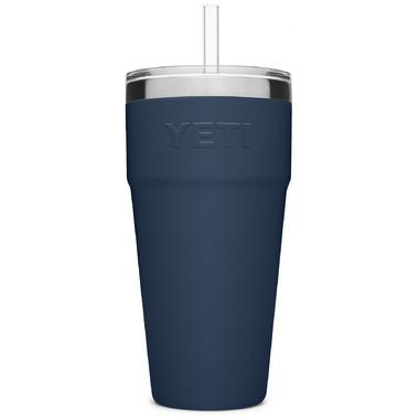 YETI Rambler Straw Cup Navy