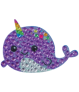 iScream Narwhal Rhinestone Decal