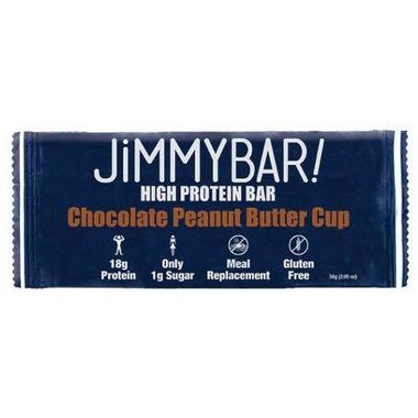 Jimmybar Protein Crunch Bar Chocolate Peanut Butter Cup