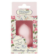 The Vintage Cosmetics Company Blending Sponge Infused with Collagen in Pink