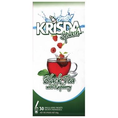 Krisda Splash Black Tea with Raspberry