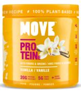 Poudre de protéines MOVE à la vanille