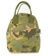 Fluf Camo Zipper Organic Lunch Bag