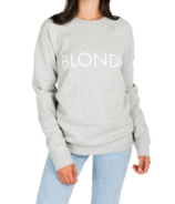 Brunette The Label Blonde Crewneck Pebble Grey