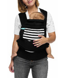 Moby Wrap Mei Tai Stripes Carrier