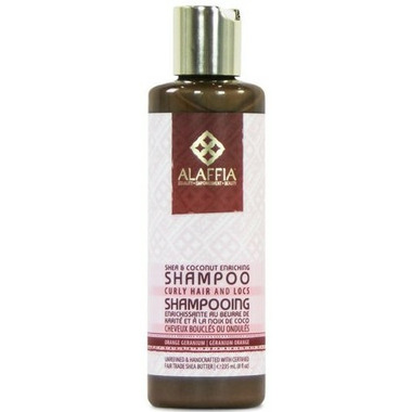 Alaffia Shea & Virgin Coconut Enriching Shampoo For Curly Hair
