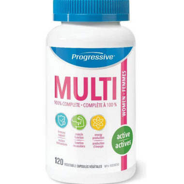Progressive MultiVitamins For Active Women