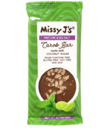 Missy J's Mint Lime & Sea Salt Carob Bar