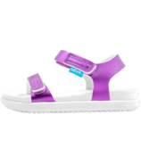 Native Charley Child Lavendar Metallic & Shell White