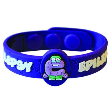 Allermates Medical Alert Wristband for Epilepsy