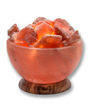 Heartfelt Living Round Bowl Salt Lamp