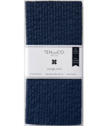 Ten & Co. Swedish Sponge Cloth Set Solid Navy