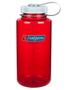 Nalgene 32 Ounce Tritan Wide Mouth Loop Outdoor Red