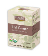 Rootalive Organic Tulsi Ginger Tea