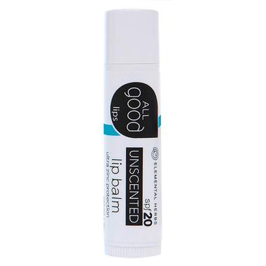 All Good Unscented Lip Balm SPF20