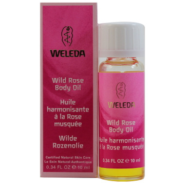 Weleda Wild Rose Body Oil Travel Size