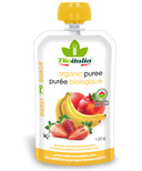 Bioitalia Apple Strawberry Banana Organic Puree Smoothie