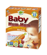 Hot-Kid Baby Mum-Mum Organic Sweet Potato & Carrot Rice Rusks