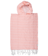 House of Jude Turkish Towel Child Poncho Blush