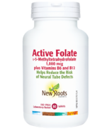 New Roots Herbal Active Folate L-5-Methyltetrahydrofolate