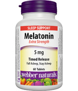 Webber Naturals Extra Strength Timed Release Melatonin