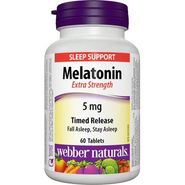 Webber Naturals Extra Strength Timed Release Melatonin