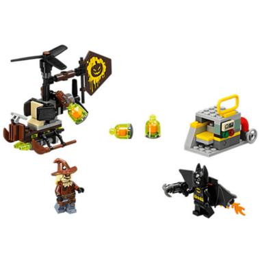 LEGO Batman Movie Scarecrow Fearful Faceoff