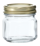 Anchor Hocking 1/2 Pint Home Canning Jars + Metal Lids and Rings