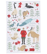 Now Design True North Printed Dish Towel
