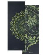 Gaiam Premium Reversible Print Yoga Mat 6mm Paisley Medallion