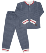 Juddlies Organic Cottage Pajamas Lake Blue