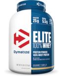 Dymatize Nutrition Elite Whey Protein Gourmet Vanilla 5 lbs