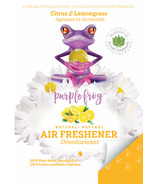 Purple Frog Citrus & Lemongrass Natural Air Freshening Pods
