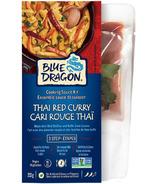 Blue Dragon Kit pour Repas Curry Rouge 3Étapes