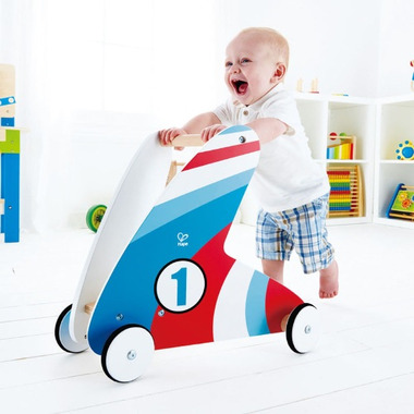 Hape Toys Step & Stroll Racing stripes