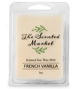 The Scented Market Wax Melt French Vanilla