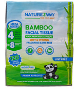 NatureZway Bamboo Facial Tissue Mega Boxes