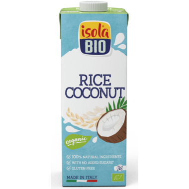 Isola Bio Rice Coconut Beverage