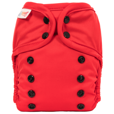 Bummis All-in-One Pure Diaper Red